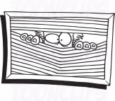 cartoon-coloring-page-line-art-of-a-paranoid-guy-peeking-through-blinds-by-toonaday-505.jpg